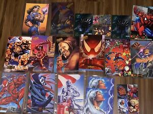 Set-Of-1995-Flair-Marvel-amp-Fleer-Ultra-Large-Prints