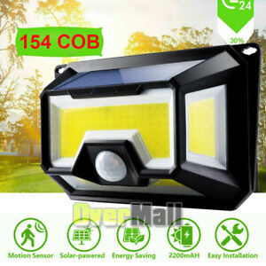 Solar-Powered-154LED-Light-Waterproof-Outdoor-Security-Garden-Lamp-Dusk-to-Dawn