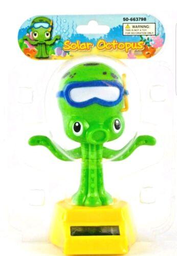 Solar Power Dancing Toys Solar Octopus Bobble Head Dancing Toys New Happy Summer