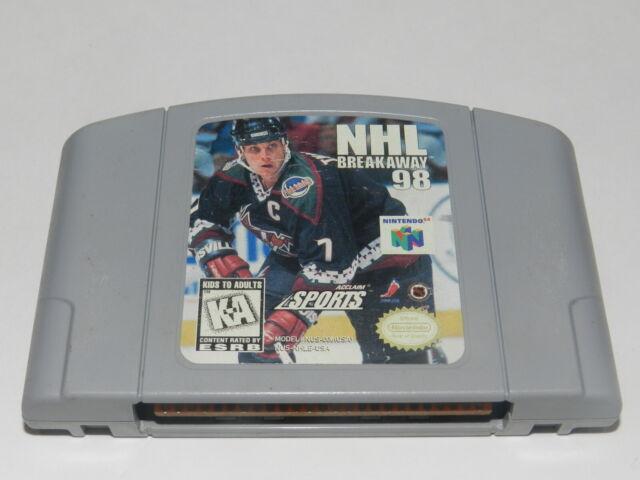 NHL Breakaway '98 Nintendo 64 N64 Video Game Cart