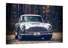 Aston Martin DB5 - 30x20 Inch Canvas - Framed Picture Poster Print Art