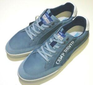 Camp-David-Herren-Schuhe-Halbschuh-Schnuerschuh-Schnuerer-Sneaker-8226-fog-blue