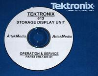 Tektronix 613 Storage Display Unit Service & Ops Manual