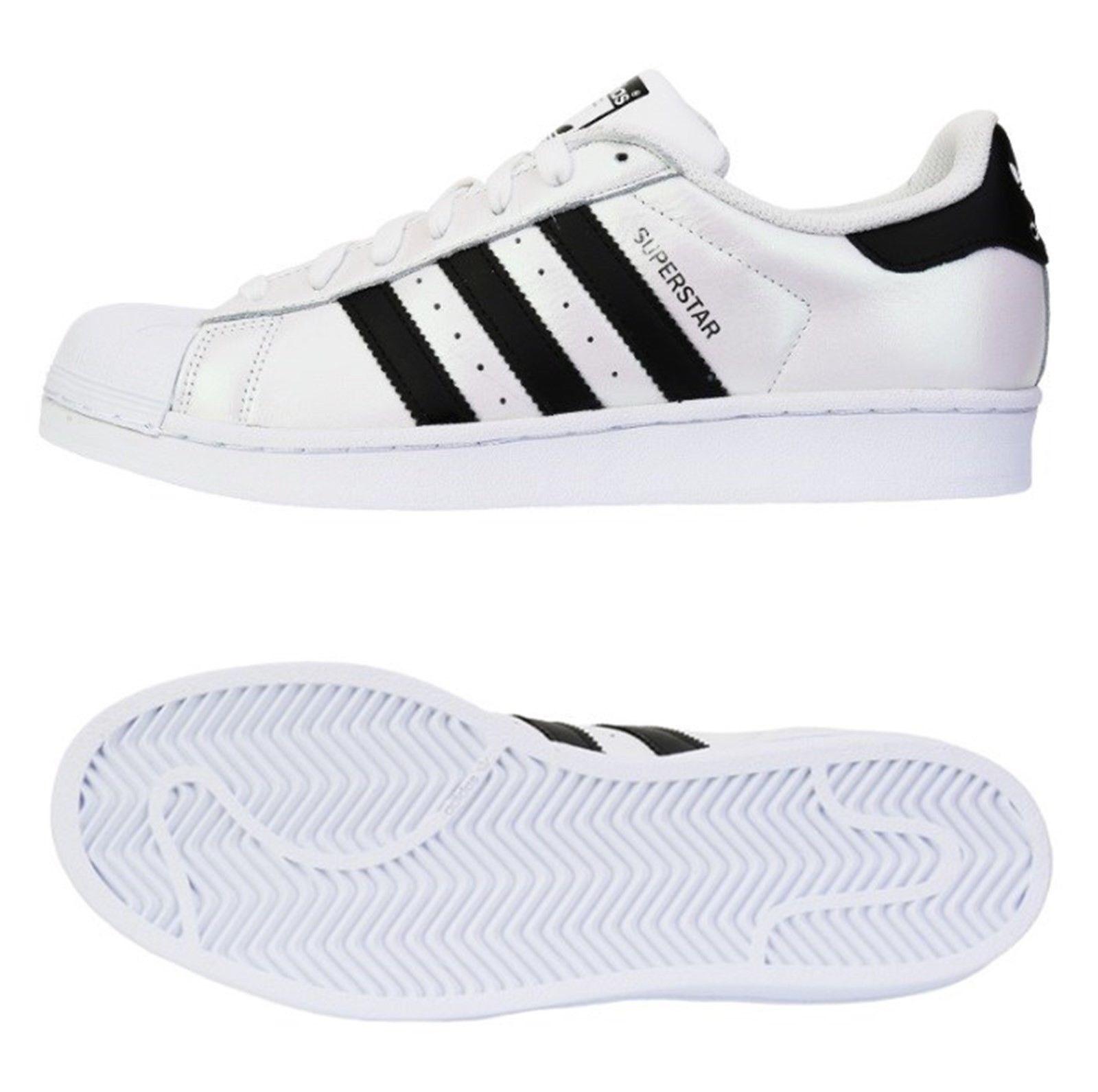 Adidas Uomo Shoes Original Superstar 2016 Running  White Shoe GYM S75873