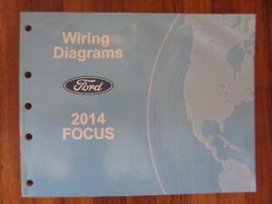 2014 Ford Focus Diagrama De Fiacao Eletrica Manual De Oficina Ebay