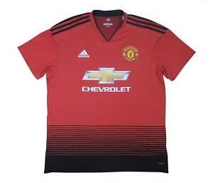 Manchester United 2018-19 ORIGINALE Maglietta (eccellente) L soccer jersey