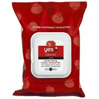 Yes To Tomatoes Blemish Clearing Facial Towelettes, Clear Skin Acne 25 Ea (5pk) on sale