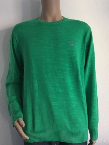 Col 15 Crew Neu Xl Green Spring Natural Gant Cotton Pullover Gr TX4gw