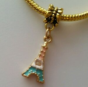 Eiffel-Tower-Paris-France-Travel-Dangle-Charm-Bead-for-European-Style-Bracelet