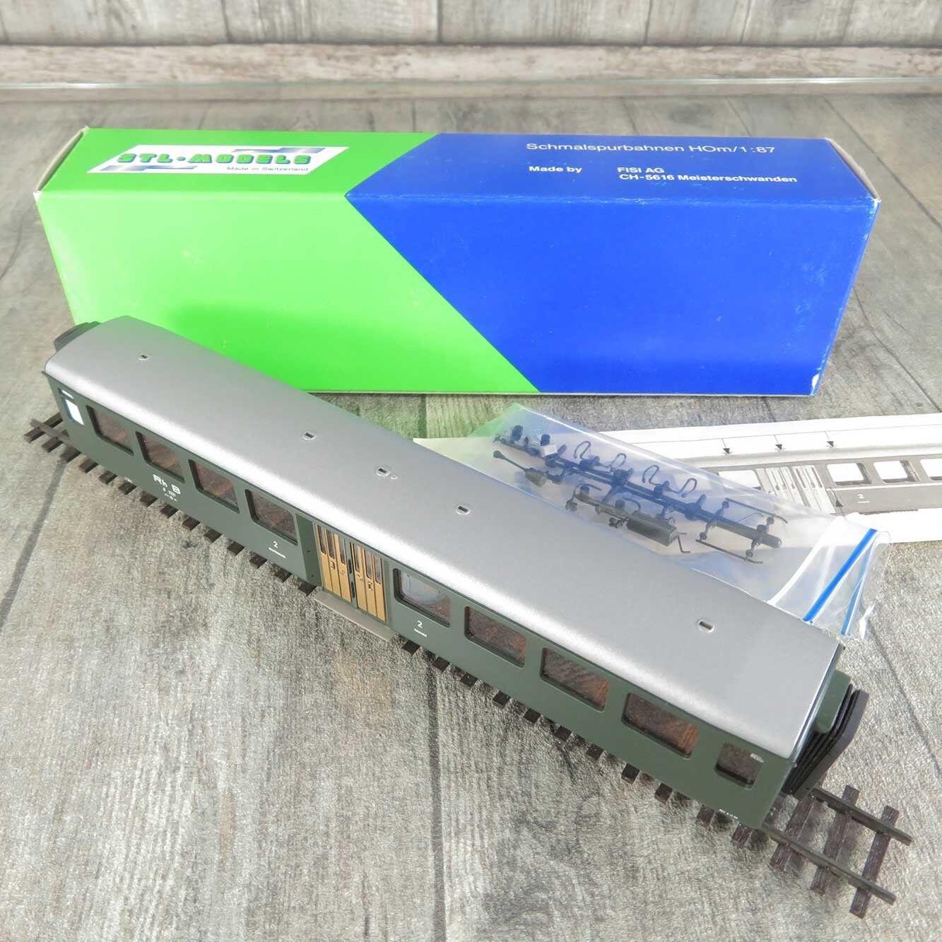 STL-Models 2203 1 - H0m - Personenwagen - RhB - 2.Klasse - OVP -  C15567