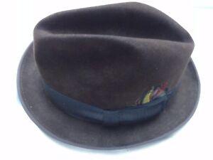 25e39fd1b6ffe Vintage Mens Stetson Hat The Gun Club by Stetson Royal De Luxe Pork ...