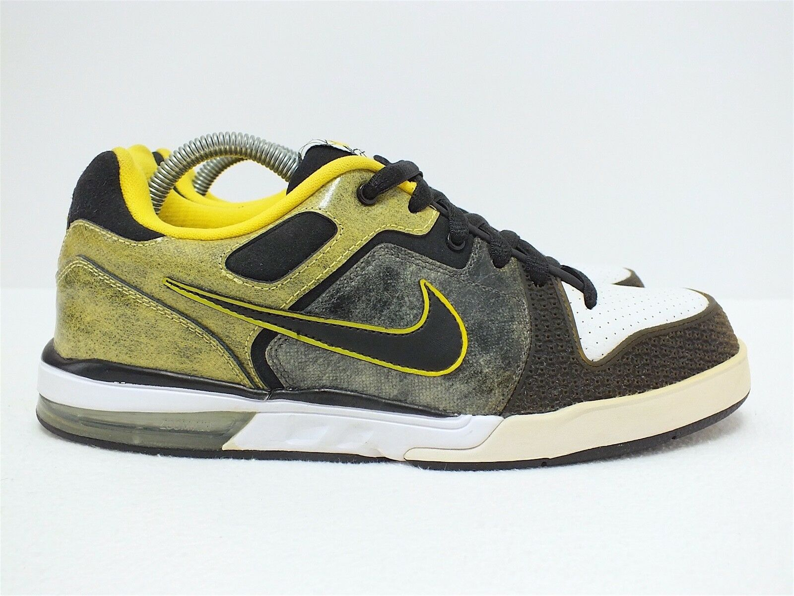 New shoes for men and women, limited time discount Nike 6.0 Men's Low Basketball Shoes Yellow/Black/White Comfortable