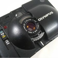Olympus XA Zuiko 1:2,8 35mm Flash Mju II Point And Shoot Argentique Testé Tested