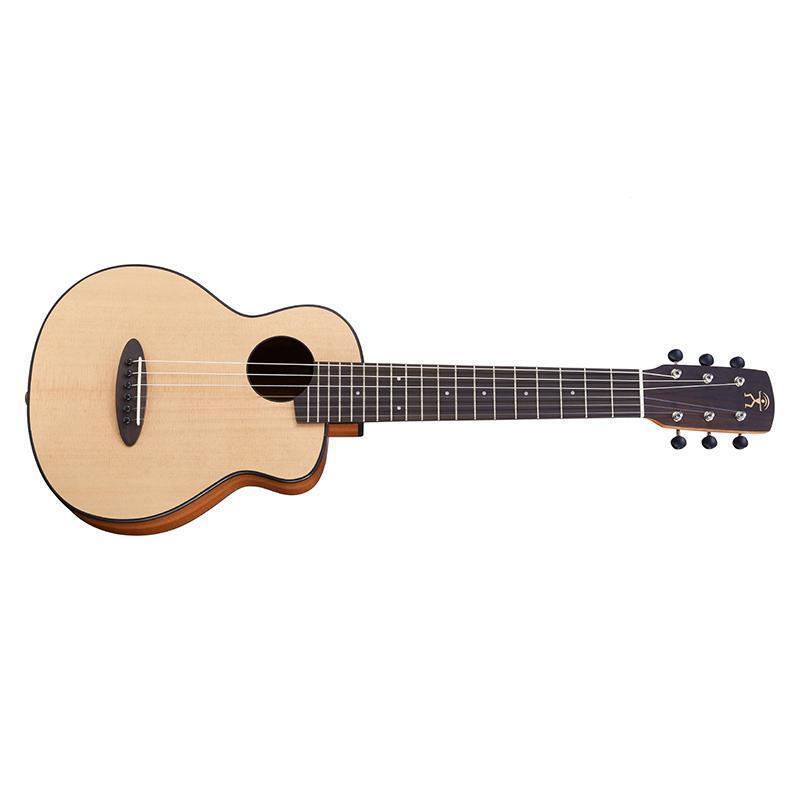 Anuenue S10EF Feather Bird Travel Größe Nylon String Guitar