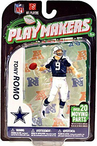 NFL Dallas Cowboys McFarlane 2012 Playmakers 3 Tony Romo 4in. Figure