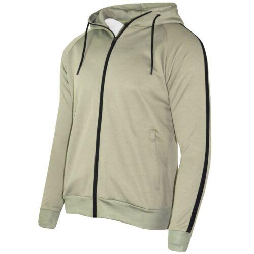 Garçons Enfants Polyester Survêtement Slim Fit Jogger Bas Zip Capuche Panel 5-14