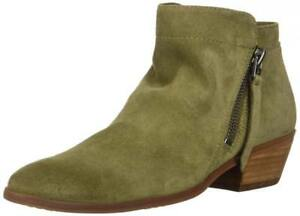 87d1bacadbbd23 Sam Edelman Women s Packer Ankle Boot Leather Booties Zip Comfort ...