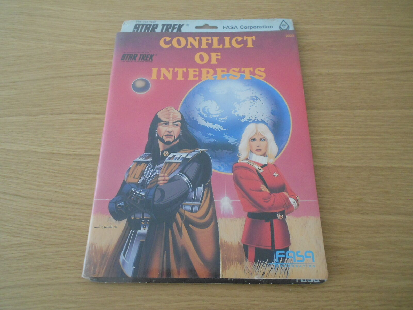 STAR TREK - Conflict of Interests - set rol - FASA 2222 RPG Sealed Condition