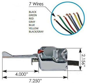 universal directional switch wiring diagram universal 7 wire chrome turn signal switch - signal stat ... universal key switch wiring diagram