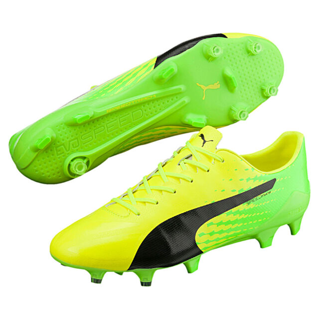 eb5741ceb55 PUMA Mens evoSPEED 17 Sl-s FG Football BOOTS Shoes Footwear Sports ...