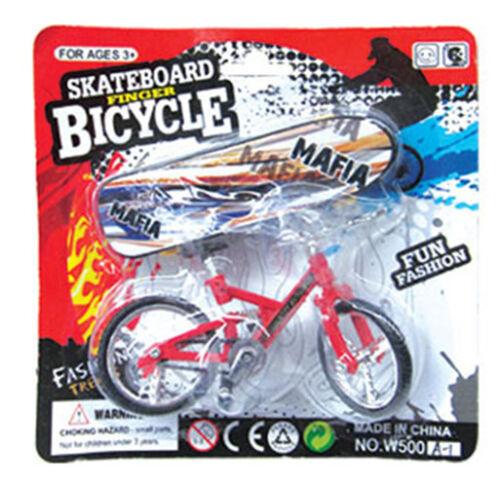 Finger Board Ragazzo Bambino Bambini Ruota BMX Giocattolo Regalo Tech Deck Dito Bicicletta