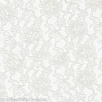 White Lace Fabric By The Yard White Fabric Sewing Fabric Material Fashion Fabric