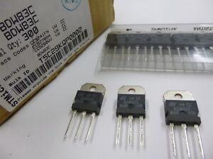 8-pieces-BDW83C-POWER-TRANSISTOR-100V-15A-TO-218-BDW83-SGSD100-BDV67-BDV67A