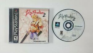 Saga-Frontier-2-Sony-PlayStation-2000-PS1-CIB-Complete-Black-Label-Squaresoft