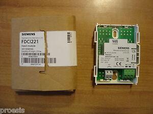 SIEMENS Cerberus FDCI221 input module modulo 1 ingresso