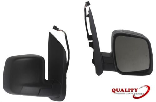 Door Wing Mirror Heated Electric Black O//S Right Fiat Qubo 2009 High Quality