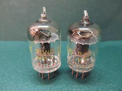 6AJ5 JAN TUNG-SOL VACUUM TUBES NOS Vtg 40s Headphone Amplifier 6ak5 6j1 Lot TV-7