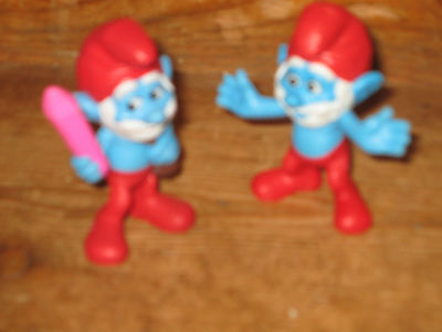 20732 Movie  3D Gutsy Smurf Smurfs Schlümpfe © /'10 Peyo Made in Germany CE