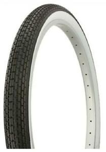 Bike Dragster Tyres  Bicycle  White Wall  Front 20x1.75 Rear 20 x 2.125 Vintage