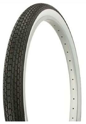"White Wall Retro Vintage DURO 20/"" BMX Dragster Bike Tyre 20/"" x 2.125/"""