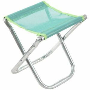Aluminum-Folding-Chair-Stool-Seat-Outdoor-Fishing-Camping-Picnic-Padded-D1K8