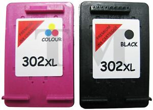 302 XL Negro y Color remanufacturados cartuchos de tinta ...