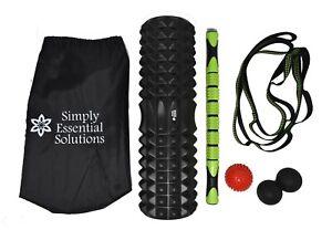 5in1-Foam-Roller-45cm-Foam-Roller-Massage-Stick-Roller-Spiky-Ball-1Peanut-Ball