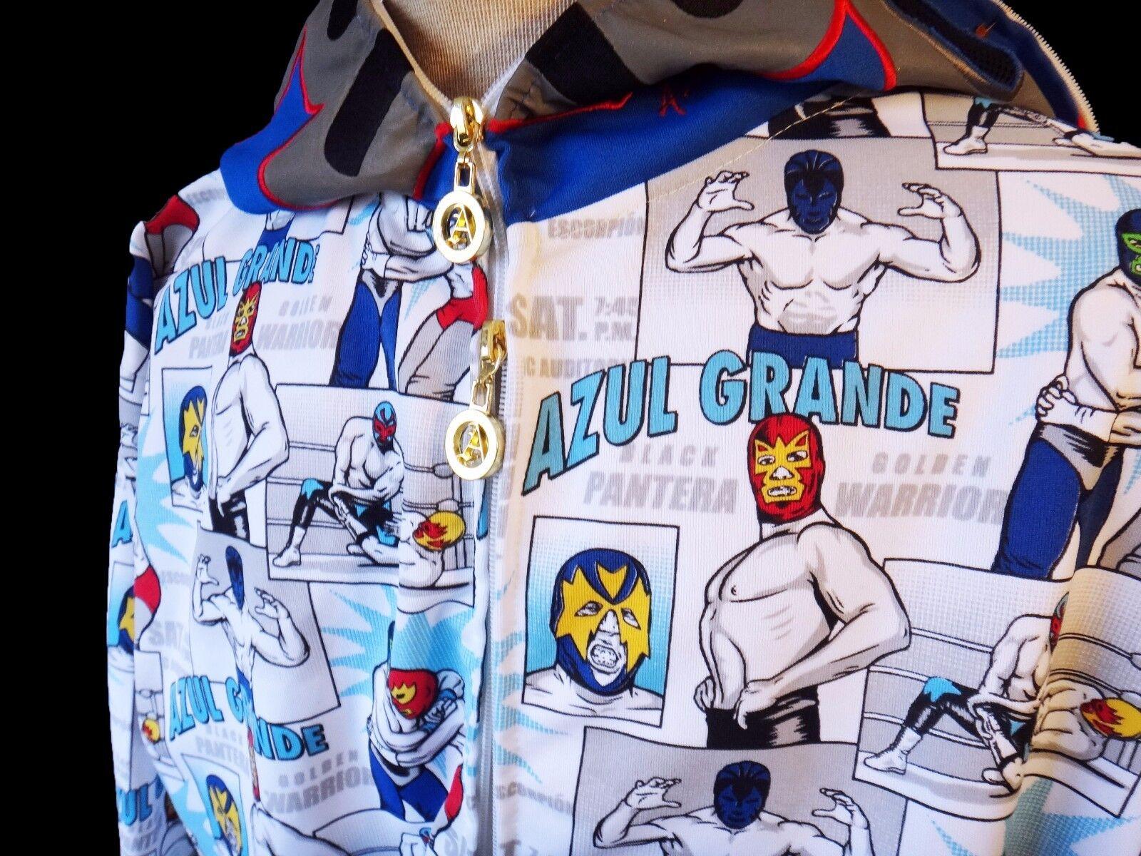 Supreme Lee Quinones Hooded Sweatshirt- Sweatshirt- Sweatshirt- Dark Aqua - SIze X-Large- IN HAND 46651d