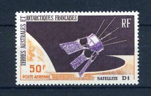 franz. Antarktis MiNr. 35 postfrisch MNH Satelliten (W930