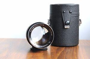 TASMAN-Auto-135mm-f-2-8-for-Pentax-M42-screw-mount-w-leather-Case