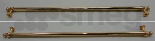 MANIGLIA PORTA DORATA ORIGINALE PER FORNO SMEG SM800 CODICE RICAMBIO 694931205