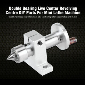 Portable-Double-Bearing-Live-Centre-Revolving-Wrench-For-Mini-Lathe-Machine-SG