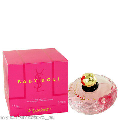 YSL BABY DOLL 100ml EDT SPRAY FOR WOMEN BY YVES SAINT LAURENT ------ NEW PERFUME