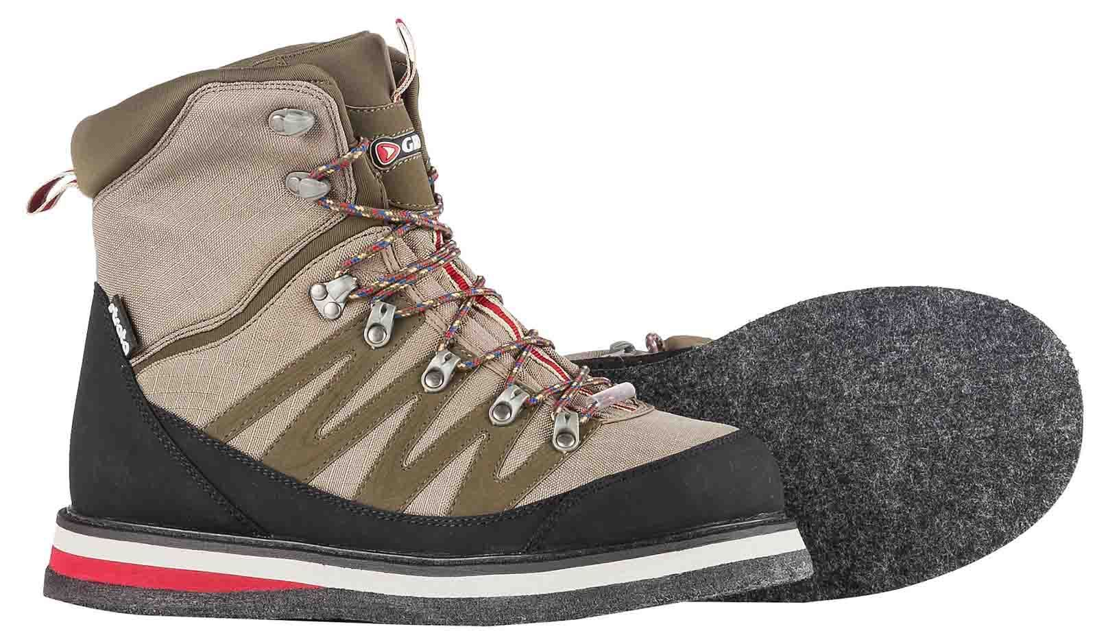 Greys Strata CT Felt Sole Fly Wading Fishing Boots Plus Studs - All Sizes