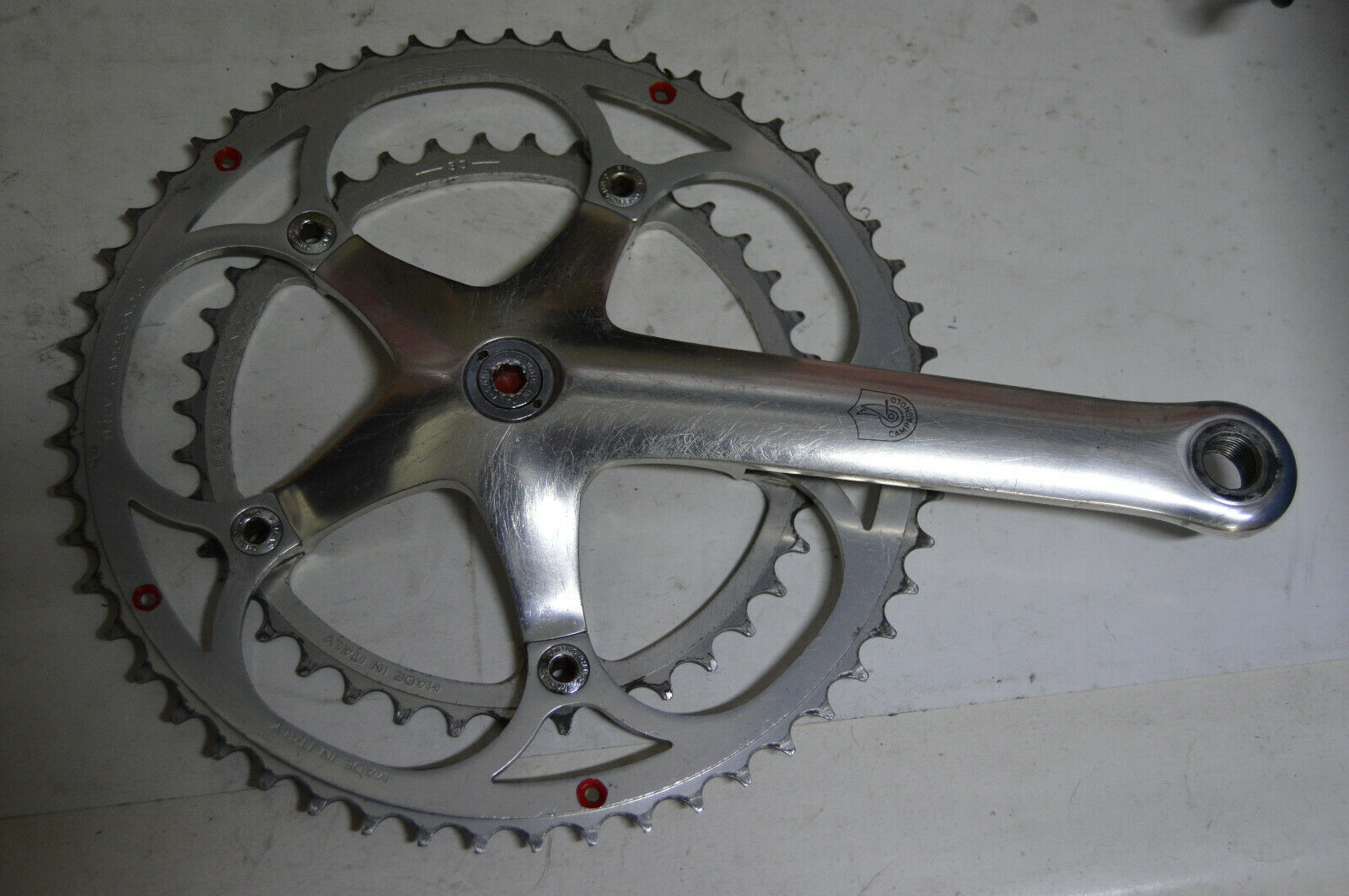 Campagnolo  C-Record 172,5mm 53 39 crankset Vintage  free shipping on all orders