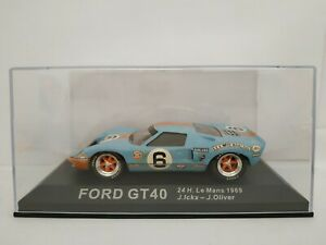 1-43-FORD-GT40-GT-40-1969-ICKX-OLIVER-24H-DU-LE-MANS-IXO-ESCALA-SCALE-DIECAST