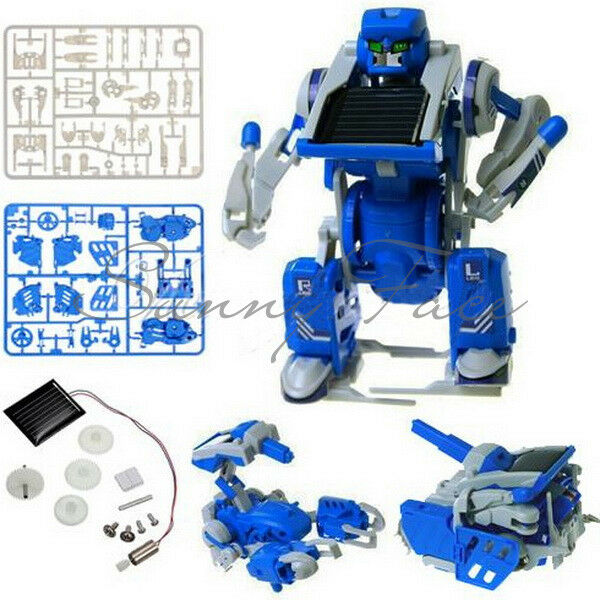 Interesting Toy DIY  Hot Kids 3 in 1 Power Solar Energy Tank Scorpion Robot  UR