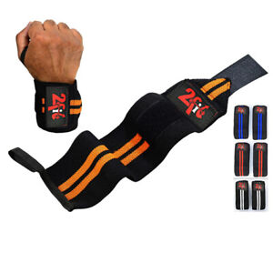 WEIGHT LIFTING WRIST GRIP SUPPORT WRAPS GYM TRAINING WORKOUT FIST STRAPS