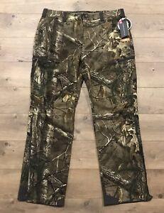 5e0aa913b7947 Under Armour Ridge Reaper Mid Season Wool Hunting Pants Realtree SZ ...
