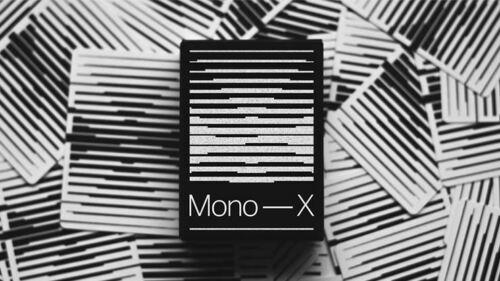 Mono X Playing CardsPoker DeckCollectable